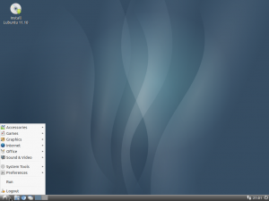 Picture of Lubuntu Desktop