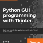 Python programming with Tkinter book cover